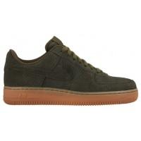 Nike Air Force 1 '07 Mid Suede Femmes baskets vert foncé/bronzage WOU847