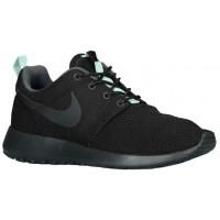 Nike Roshe One Femmes chaussures noir/vert clair KUT369