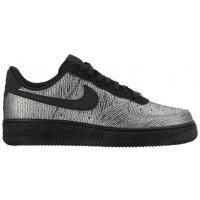 Nike Air Force 1 '07 Mid Premium Femmes chaussures argenté/noir OLD650