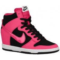 Nike Dunk Sky Hi Femmes chaussures de sport noir/blanc FTU565