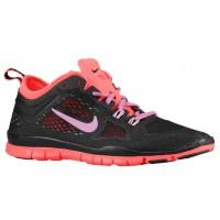 Nike Free 5.0 TR Fit 4 Femmes chaussures noir/rouge JCZ164