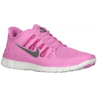 Nike Free 5.0+ Femmes chaussures de course rose/rouge ZCD339