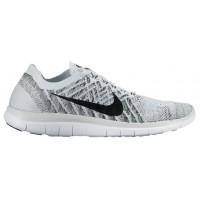 Nike Free 4.0 Flyknit Femmes chaussures de sport gris/noir KQF822