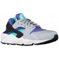 Nike Air Huarache Femmes chaussures de sport gris/vert clair GLB467