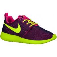 Nike Roshe One Femmes chaussures de sport rose/violet TPH310