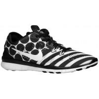 Nike Free 5.0 TR Fit 5 Femmes chaussures de sport noir/blanc VKP594