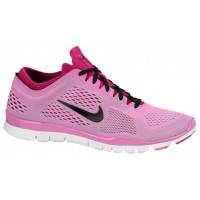 Nike Free 5.0 TR Fit 4 Femmes chaussures de sport rose/blanc NGQ296