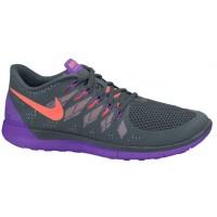 Nike Free 5.0 2014 Femmes chaussures de sport gris/violet ARQ086