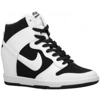 Nike Dunk Sky Hi Femmes baskets noir/blanc UBY434