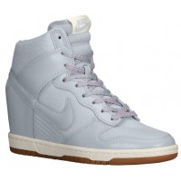 Nike Dunk Sky Hi Femmes sneakers gris/blanc CFE605