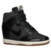 Nike Dunk Sky Hi Femmes chaussures de sport noir/gris TOK841
