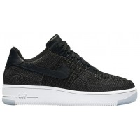 Nike Air Force 1 Low Flyknit Femmes baskets noir/blanc DDF281