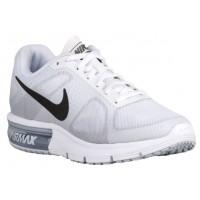 Nike Air Max Sequent Femmes chaussures de course blanc/gris YRH588
