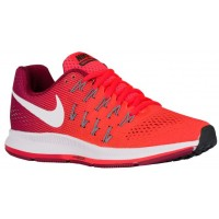 Nike Air Zoom Pegasus 33 Femmes chaussures Orange/brillantes rouges TSA154