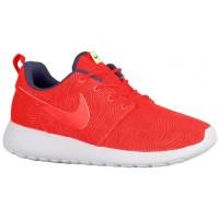 Nike Roshe One Moire Femmes sneakers rouge/bleu marin NOJ442