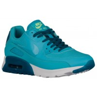 Nike Air Max 90 Ultra Femmes baskets bleu clair/bleu marin DAD482