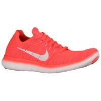 Nike Free RN Flyknit Femmes chaussures Orange/blanc HUL620