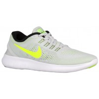 Nike Free RN Femmes chaussures gris/vert clair KHF133