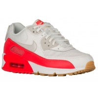 Nike Air Max 90 Femmes chaussures de sport blanc/rouge YEL426