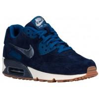 Nike Air Max 90 Femmes chaussures de course bleu marin/bleu ZMF257