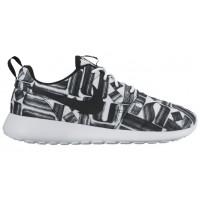 Nike Roshe One Print Rostar Femmes sneakers blanc/noir FAQ537