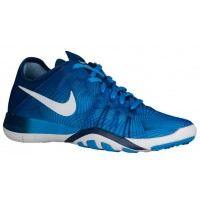 Nike Free TR 6 Femmes chaussures bleu/blanc AFT221