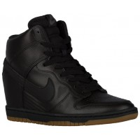 Nike Dunk Sky Hi Femmes chaussures de sport noir/marron AUY218