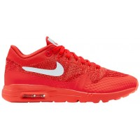 Nike Air Max 1 Ultra FlyknitFemmes chaussures rouge/blanc KKV105