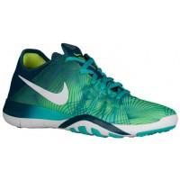 Nike Free TR 6 Femmes sneakers bleu marin/vert clair KPD981