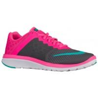 Nike FS Lite Run 3 Femmes chaussures de sport gris/rose RUC517