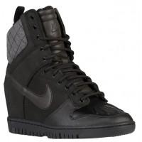 Nike Dunk Sky Hi Sneakerboot 2.0 Femmes baskets noir/gris ODX804