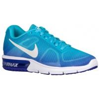 Nike Air Max Sequent Femmes chaussures de sport bleu clair/blanc NRK546