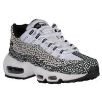 Nike Air Max 95 Femmes chaussures de sport blanc/noir HHK218