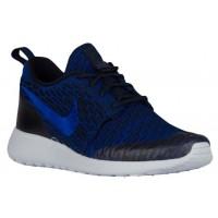 Nike Roshe One Flyknit Femmes chaussures bleu/bleu marin LRK073