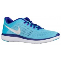 Nike Flex 2016 RN Femmes baskets bleu clair/blanc BOG823