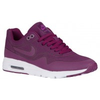 Nike Air Max 1 Ultra Moire Femmes chaussures violet/blanc XIS415