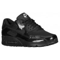 Nike Air Max 90 Femmes chaussures de sport Tout noir/noir YYF263