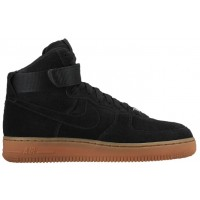 Nike Air Force 1 High Suede Femmes baskets noir/marron OXP036