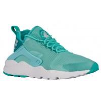 Nike Air Huarache Run Ultra Femmes chaussures de course vert clair/bleu clair BOL528