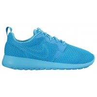 Nike Roshe One Hyper BR Femmes chaussures de sport bleu clair/bleu clair NUP724