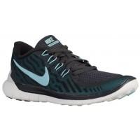 Nike Free 5.0 2015 Femmes chaussures de course gris/noir SQP723