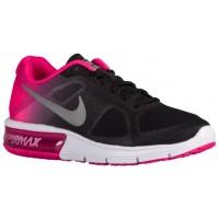 Nike Air Max Sequent Femmes chaussures noir/rose AJU023