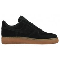 Nike Air Force 1 '07 Low Suede Femmes baskets noir/bronzage SVZ034