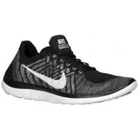 Nike Free 4.0 Flyknit Femmes baskets noir/gris TJQ484