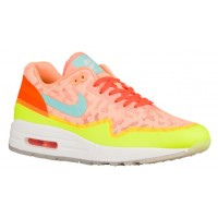 Nike Air Max 1 NS Femmes baskets Orange/vert clair DWF770