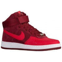 Nike Air Force 1 Ultra Force Mid Femmes baskets rouge/blanc IRD797
