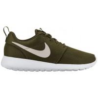 Nike Roshe One Femmes chaussures de sport olive verte/blanc PGU029