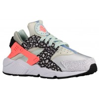 Nike Air Huarache Premium Femmes chaussures de sport gris/Orange RBI462