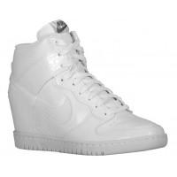 Nike Dunk Sky Hi Femmes baskets blanc/gris IAW853