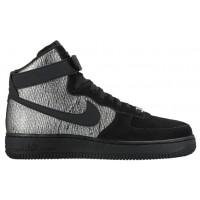 Nike Air Force 1 High Premium Femmes chaussures argenté/noir AGN625